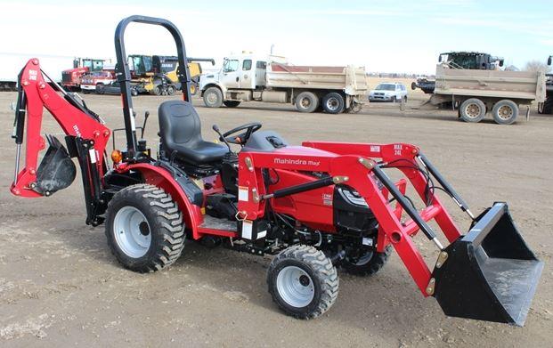 Mahindra MAX 24 HST Mini Tractor