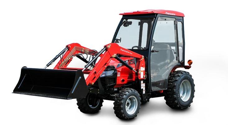 Mahindra MAX 26XL HST Cab Mini Tractor