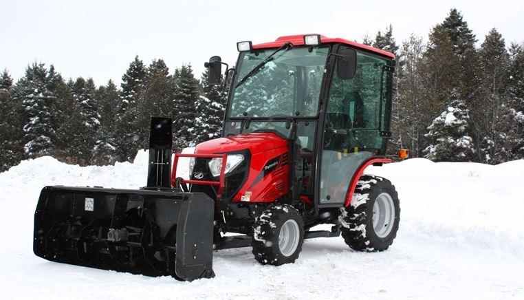Mahindra eMAX S 25 HST Cab Mini Tractor