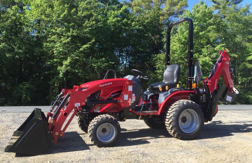 Mahindra eMax S 22 HST Mini Tractor