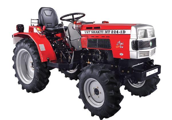 VST Shakti MT 224 1D AJAI 4WB Mini Tractor