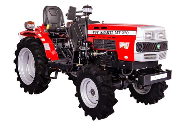 VST Shakti MT 270 VIRAAT 4W Mini Tractor
