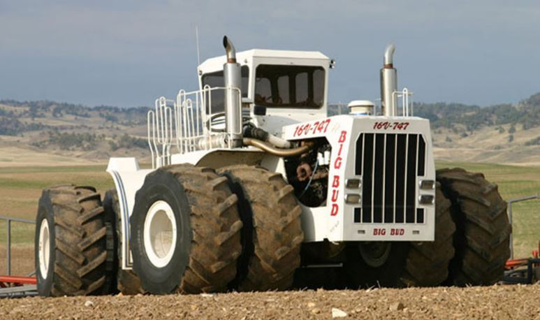 Big Bud Tractor specifications