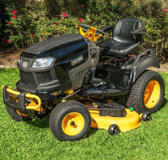 Craftsman Pro Series 27055 54inch 26 HP V-Twin Kohler Garden Tractor