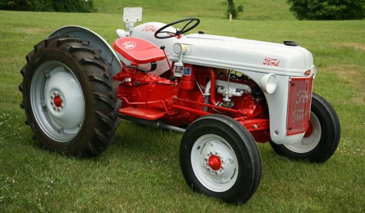 Ford 8N Tractor Specifications