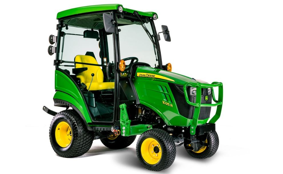 John Deere 1025r Sub-Compact Utility Tractor specifications
