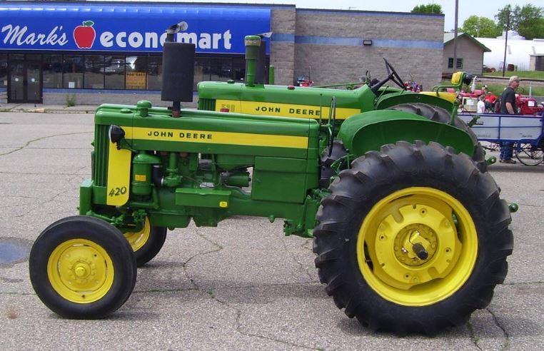 John Deere 420 Tractor Price