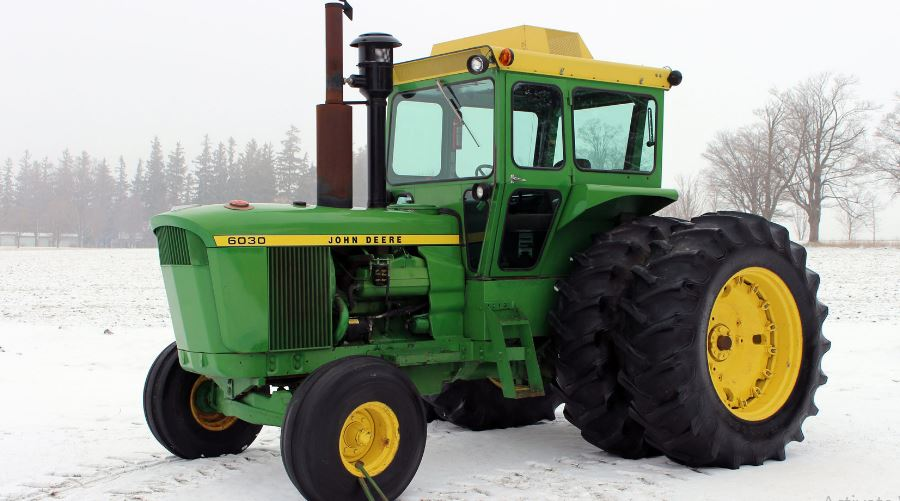 John Deere 6030 Tractors Features Overview