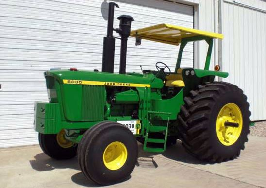 John Deere 6030 Tractors specs