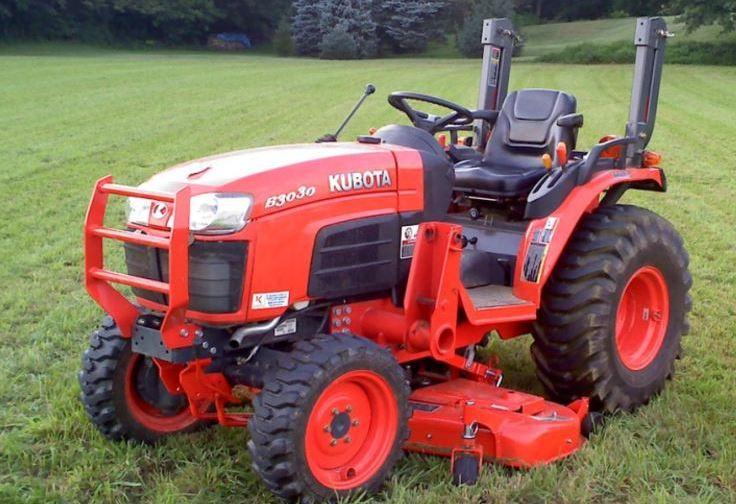 Kubota B3030 Tractor Specs Overview