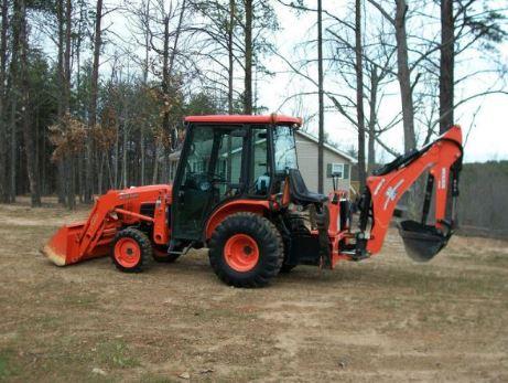 Kubota B3030 Tractor attachments