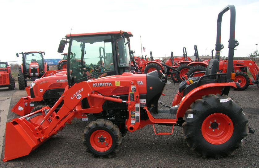 Kubota B3350 Tractor Overview