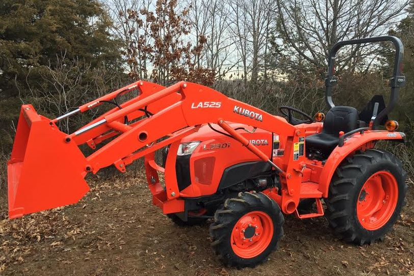 Kubota L3301 Price, Attachments Specification Review & Images