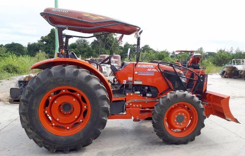 Kubota M7040 Tractor Specs Overview