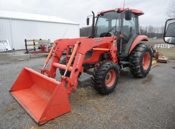 Kubota M7040 Tractor features