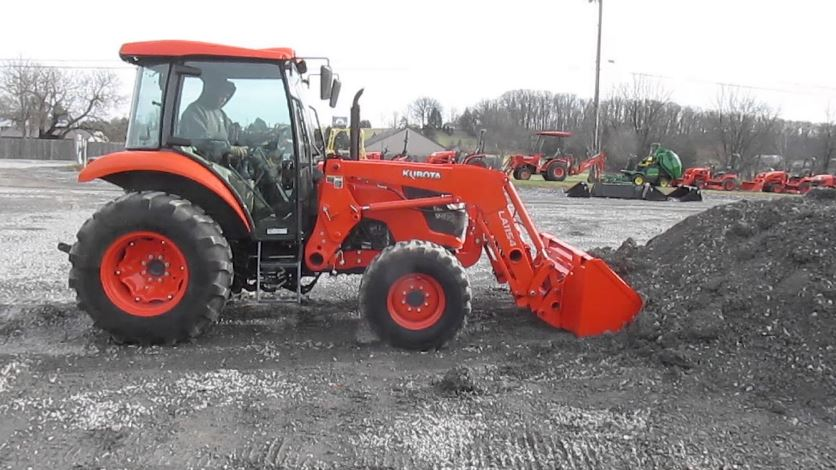 Kubota M7060 Tractor features