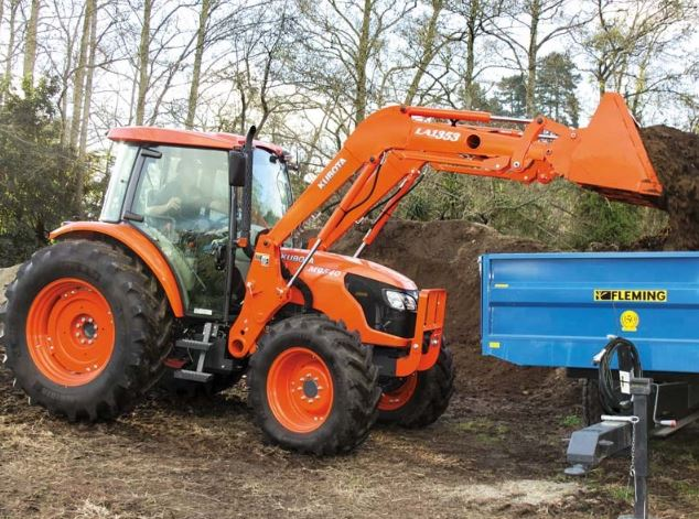 Kubota M9540 Tractor features