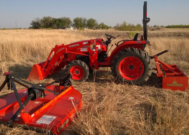 Kubota l3200 Compact Tractor Attachments