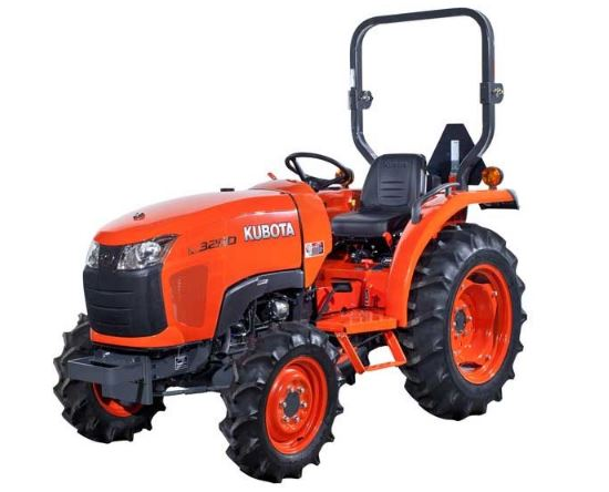Kubota l3200 Compact Tractor Specs Overview