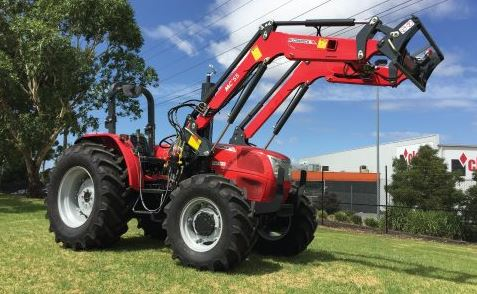 McCormick A-Max 75 Tractor
