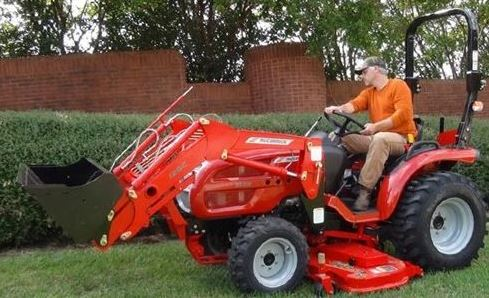 McCormick X1.35H Compact Tractor