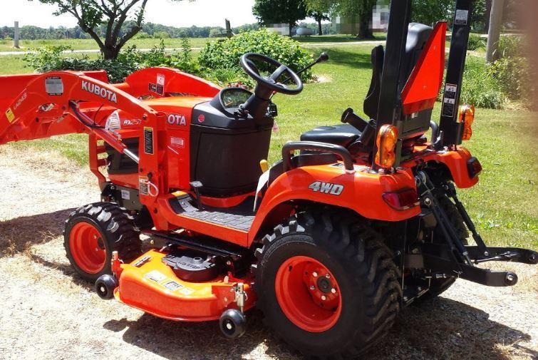 Price of Kubota BX2370 Sub Compact Tractor