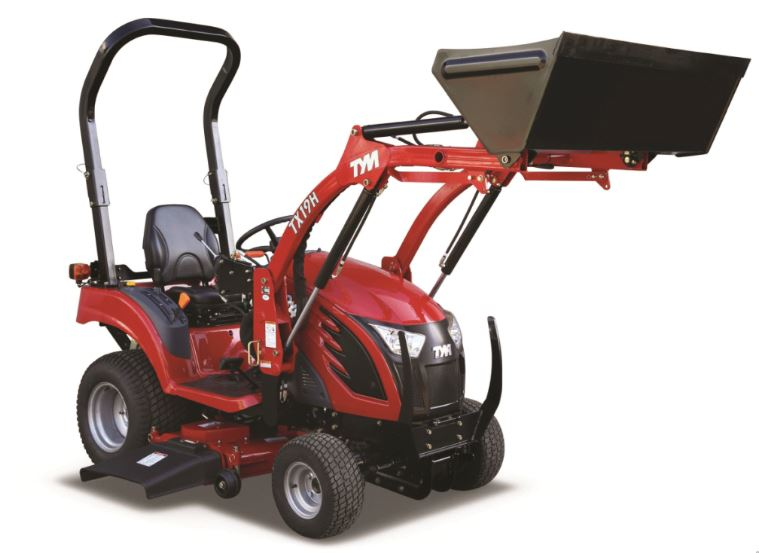 TYM T194 19 HP Sub-Compact Utility Tractor Price Specs Attchments & Features