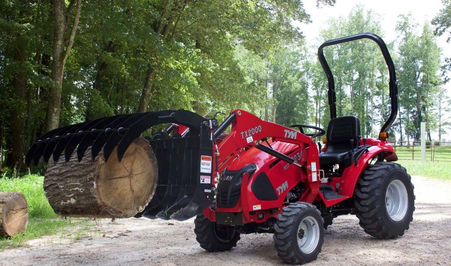 TYM T234 HST Sub-Compact Utility Tractor with fornt loader