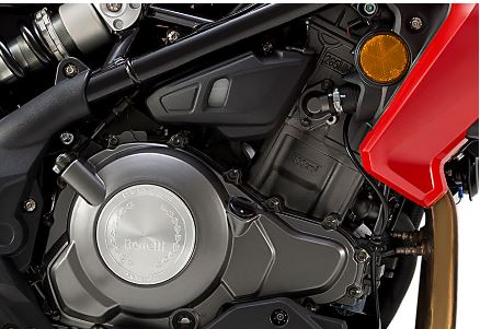 DSK Benelli TNT 300 Sports Bike ENGINE